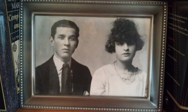 My grandparents, Peggy and David.